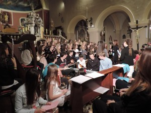 Nastup u crkvi, Ana Marija Lesica