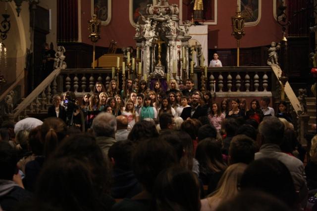 Koncert u crkvi, Matea Pentek